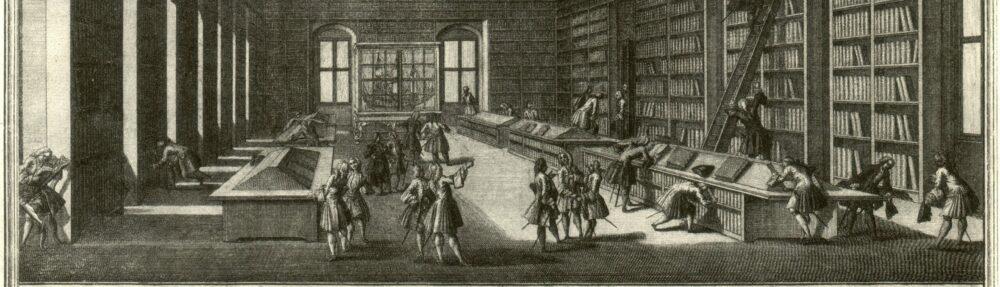 Archives en bibliothèques